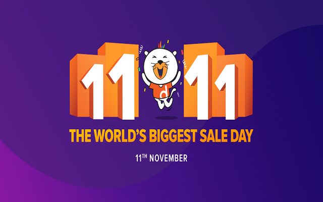 Alibaba's 11.11 Global Shopping Festival - to Daraz Pakistan