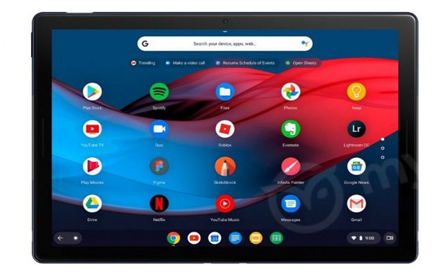 Here are the New Pictures of Google Pixel Slate Tablet Revealing USB-C Port