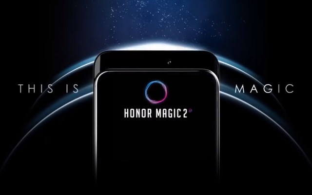 Honor Magic 2 Official Photos Show Its Slide-Out Camera