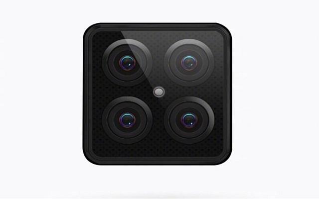 Lenovo Posts a Teaser of Quadruple-Camera Smartphone