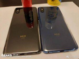 Xiaomi Mi Mix 3 Live Image Leaked