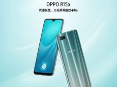 Oppo R15x Goes Official with Waterdrop Notch