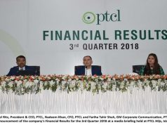PTCL Announces Q3 Financial Results