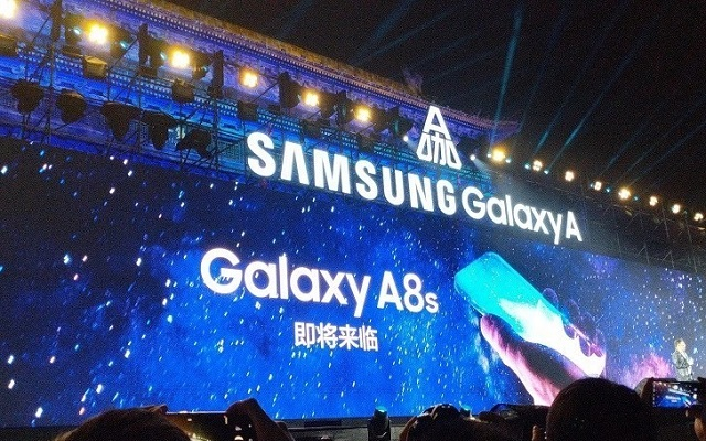 Samsung Teases the Galaxy A8s With a Camera Holes in the Frames