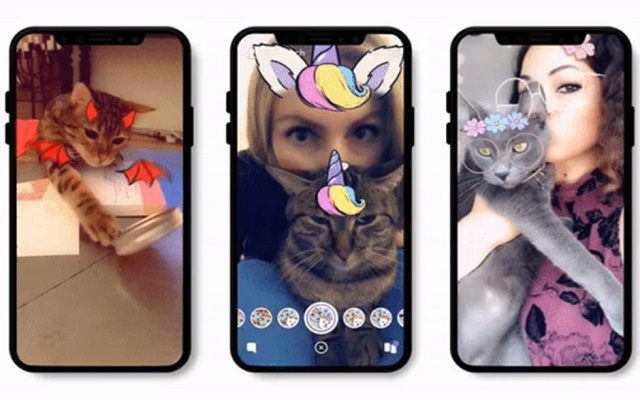 Snapchat Adds Cats Lenses for Android and iOS