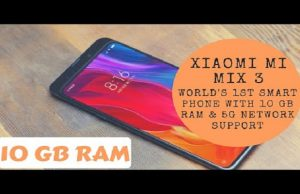 Officially Confirmed: Xiaomi Mi Mix 3 to Launch with 5G Support & 10GB of RAM