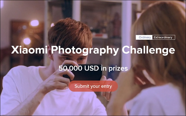 Xiaomi Photographic Challenge