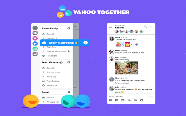 Yahoo Together Group Chat App Launches for Android and iOS
