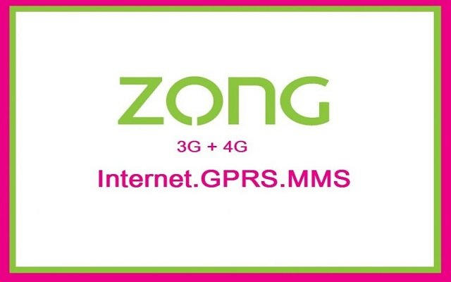 Zong Internet Settings: 3G/4G & MMS Settings For Android/iPhone (iOS)