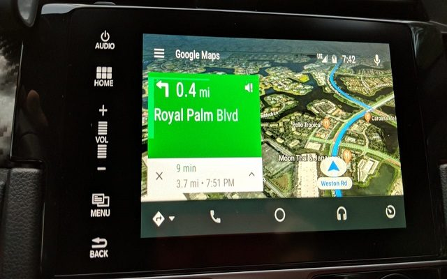 Google Maps on Android Auto Gets a Major Redesign