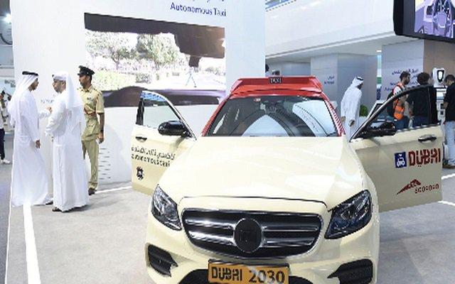 Dubai Launches Driverless Taxi Service