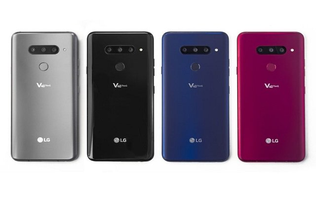 LG Delivers Ultimate Five Camera Smartphone with LG V40 ThinQ