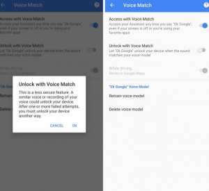 Google Android Voice Unlock Feature Will Get Removed - PhoneWorld
