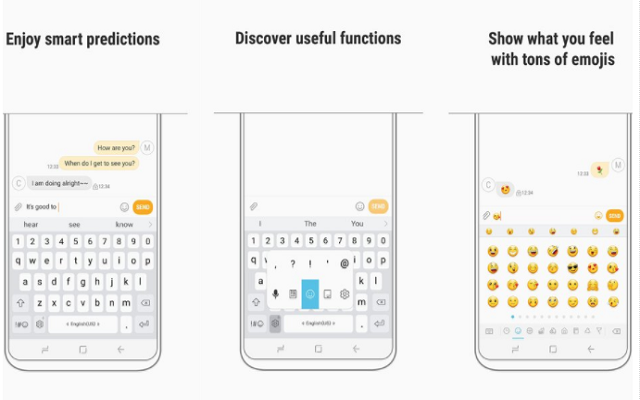 Samsung Keyboard For Android Updated With Floating Mode