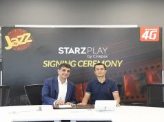 Jazz Becomes STARZPLAY by Cinepax Exclusive Telecom Partner