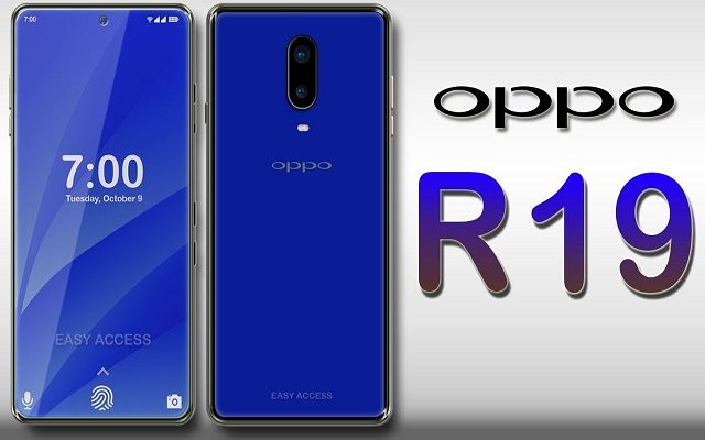 Alleged Oppo R19 Render Shows In-Display Front Camera