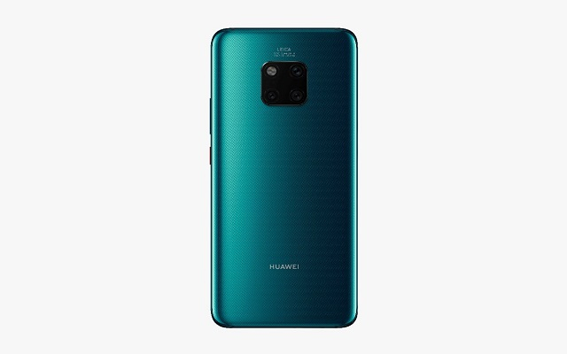 HUAWEI Mate 20 Pro Presents the World's First Reverse Wireless Charging Feature