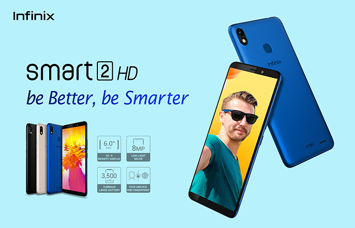 Infinix Smart 2HD: Smartphone that is selling Like Hot Cakes