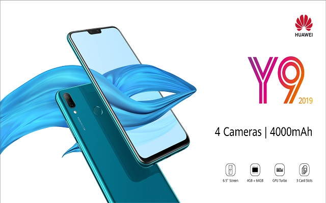 The Midrange King HUAWEI Y9 2019 has Finally Arrived