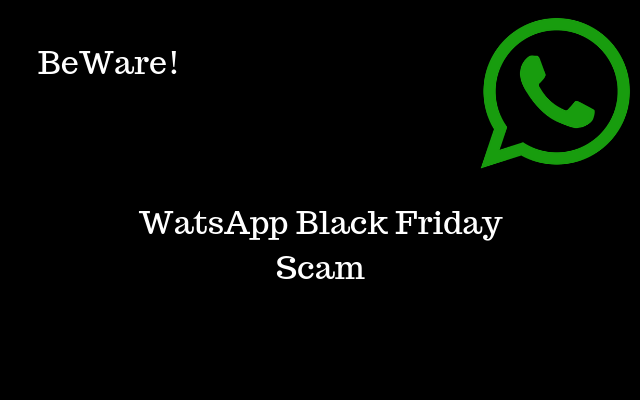 This WhatsApp Black Friday Scam is Looting People