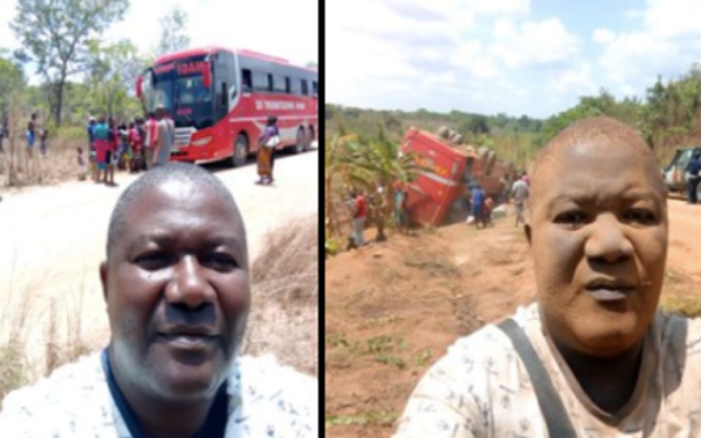 Bus Passenger's Before & After Accident Selfies Goes Viral on Internet