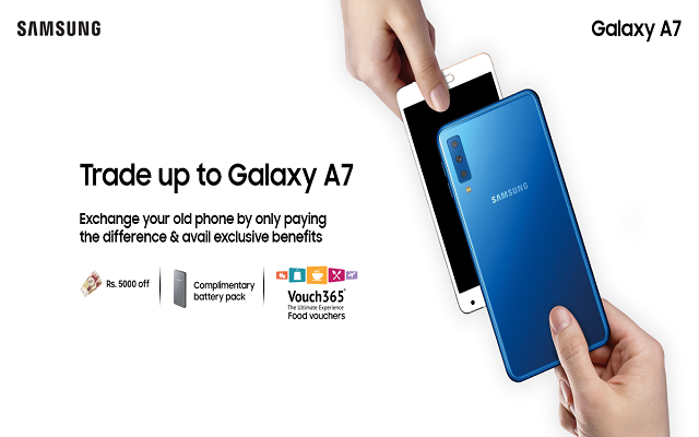 Samsung Galaxy A7 'Triple Camera Phone' Bundle Promo