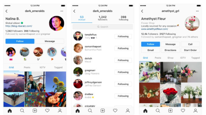 Instagram Profile Redesign Prioritizes Users Instead of Follower Count