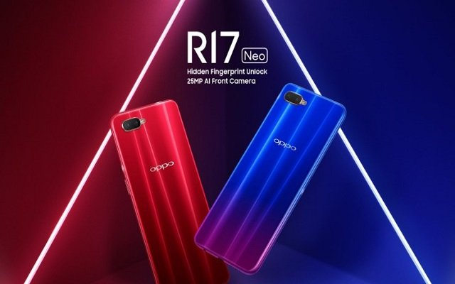 Oppo R17 Neo Launches with In-Display Fingerprint Sensor