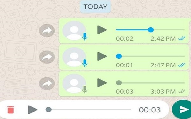 Soon Android Users Will Enjoy WhatsApp Voice Message Feature