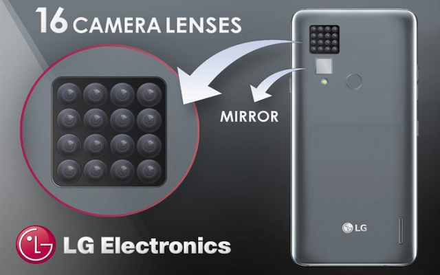 LG 16 Cameras Phone will Blow you Mind Away