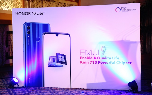 The Honor 10 lite a Phone with Unique & Immersive Dew Drop Display, launched in Pakistan