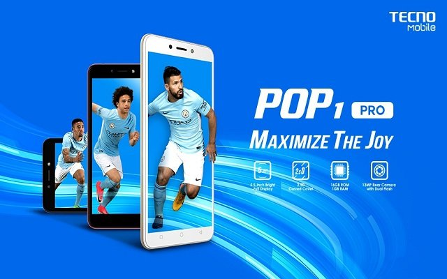 TECNO Mobile Presents POP 1 Pro with Faster Android™ 7.0 and Bigger Screen