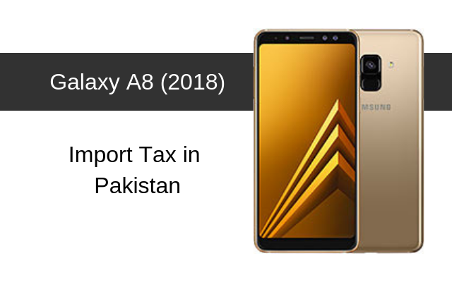 Samsung Galaxy A8 and A8 Plus (2018) tax
