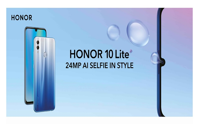 Honor 10 Lite to Hit Pakistani Market on 20th Dec 2018