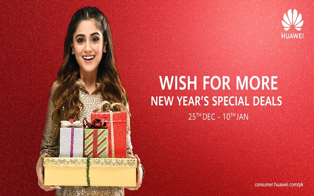 Huawei Rings in the New Year with Exciting Gift Packs for Consumers