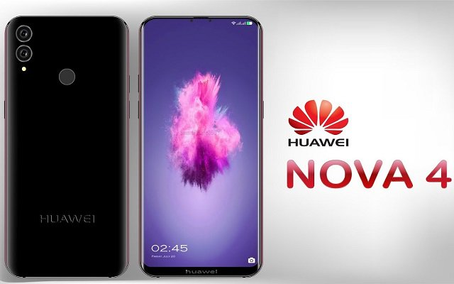 Huawei Nova 4 New Teaser Shows Red & Purple Gradient Option