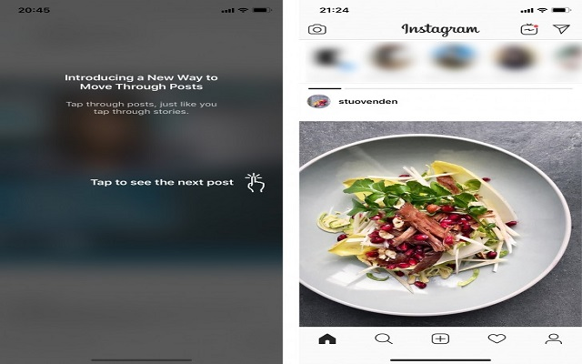Instagram Botches Horizontal Test