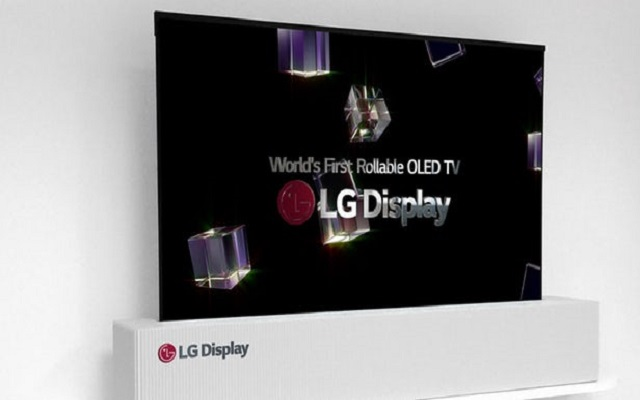 LG Rollable TV to Launch in 2019