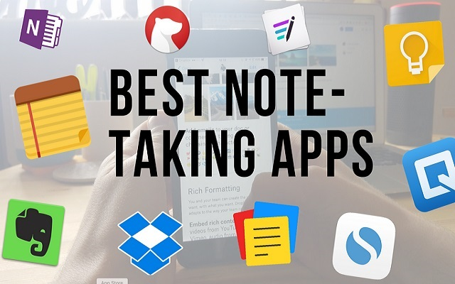 Note Taking Apps for iPhone