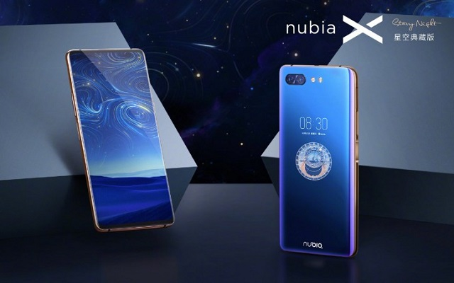Nubia X Starry Night