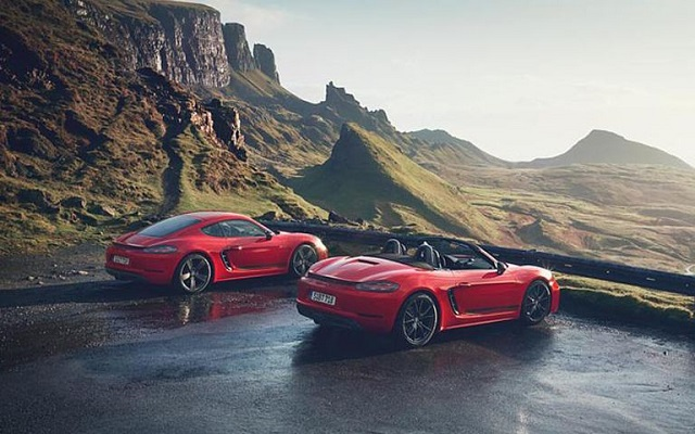 Porsche to Release T Versions of the 718 Boxster and Cayman