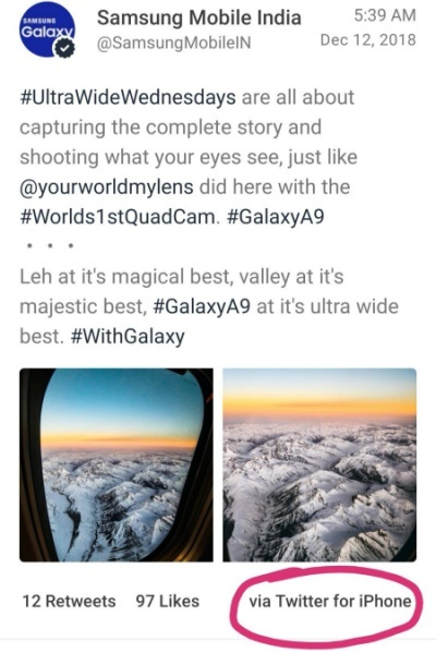 https://www.phoneworld.com.pk/samsung-posted-galaxy-note-9-promotion-on-twitter-from-iphone/
