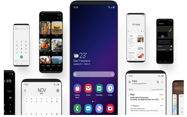 Samsung pushing out Galaxy Note9 Android Pie-based One UI