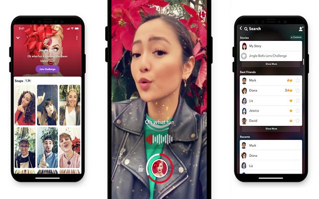 SnapChat Lens Challenge Takes On TikTok
