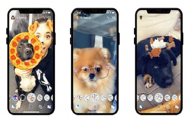 Snapchat Reveals Dogs Lenses
