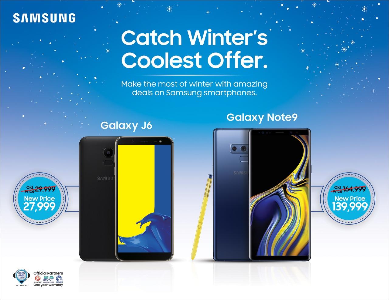 Don't Miss Samsung Galaxy Note 9 & Galaxy J6 Offer