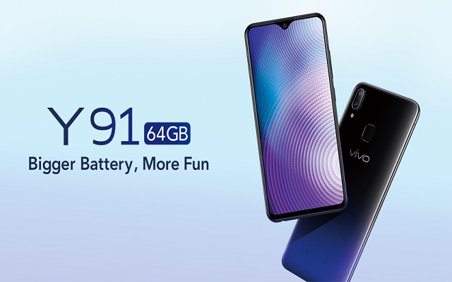 Vivo Launches Budget Smartphone Y91 with 64GB ROM & Massive 4030mAh Battery