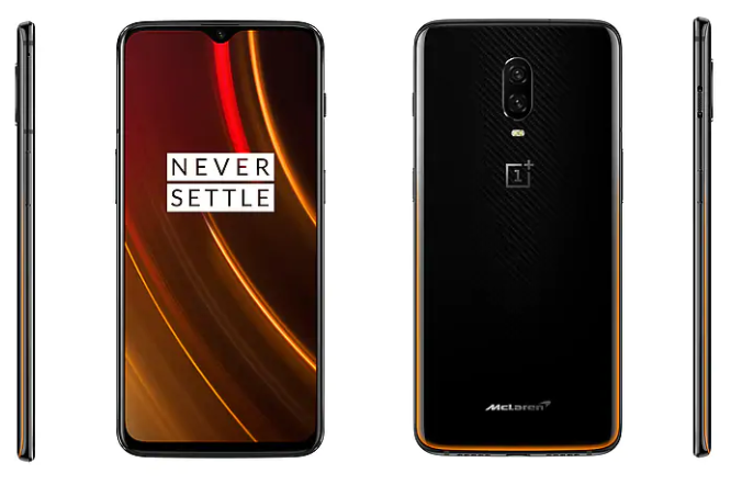 OnePlus 6T McLaren Edition Debuts With 10GB RAM