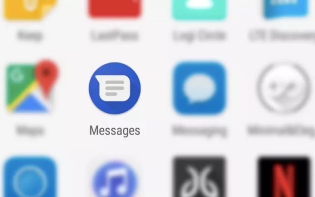 Android Messages App Update