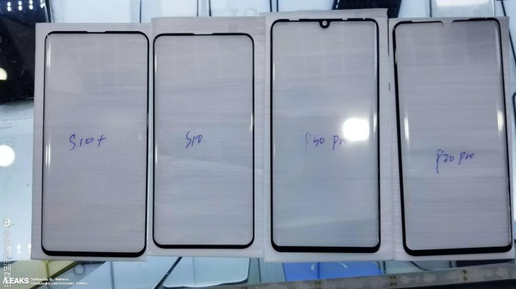 Huawei P30 Pro Screen Protector Hints At Teardrop Notch